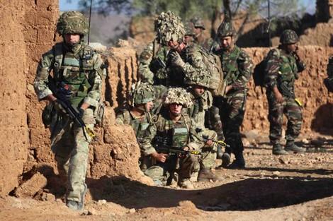 b4486a9db ... قوات بريطانية تشارك في مناورات